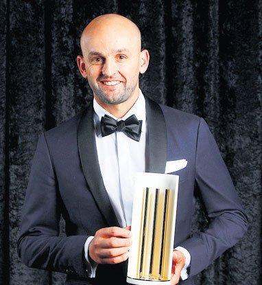 आॅस्ट्रेलिया के वर्ष के श्रेष्ठ टेस्ट खिलाड़ी चुने गए नाथन लियोन