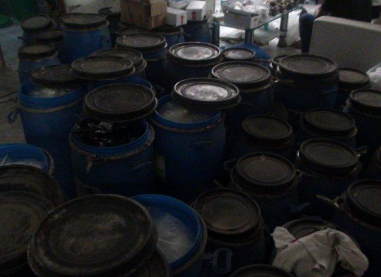 ग्रेटर नोएडा में पड़ा देश का सबसे बड़ा नारकोटिक्स छापा, 1800 किलो ड्रग्स जब्त