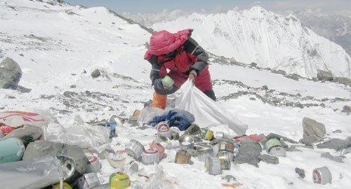 एवरेस्ट पर मिले कचरे को खजाने में बदलेगा नेपाल