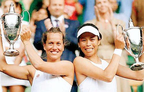 स्ट्राइकोवा-सू वेई ने जीता युगल खिताब