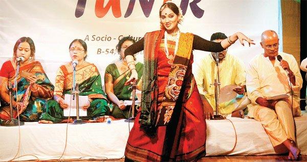 रवींद्रनाथ टैगोर के गीतों से गूंजा सभागार