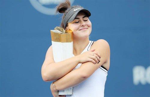 सेरेना ने छोड़ा फाइनल, बियांका चैंपियन