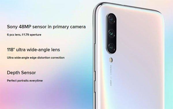 शाओमी ने लॉन्च किया तीसरी पीढ़ी वाला एमआई ए3 मोबाइल फोन