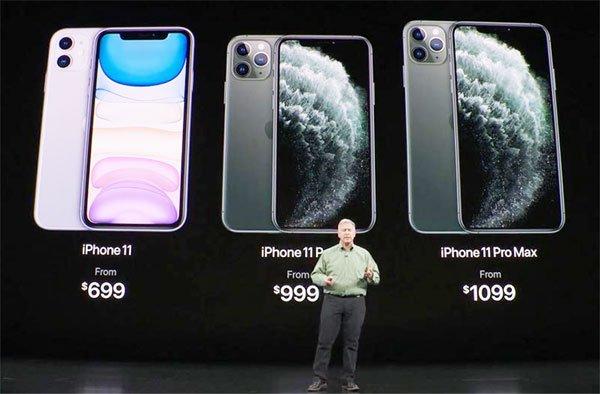 आईफोन 11 लॉन्च, प्रो और प्रो मैक्स में पहली बार तीन कैमरे