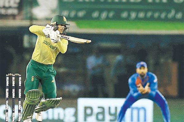 भारतीय बल्लेबाजों ने घुटने टेके दक्षिण अफ्रीका ने की बराबरी