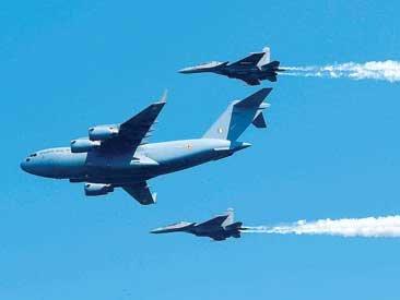 87वां वायुसेना दिवस: आसमान में गरजी वायुसेना, तेजस समेत कई विमानों ने दिखाया शौर्य