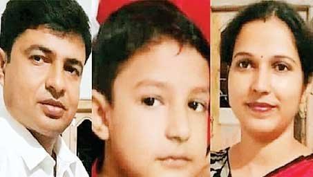 प. बंगाल में संघ कार्यकर्ता समेत पत्नी और बेटे की हत्या