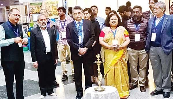 डीआईसी एक्जीबिशन में लहराया रादुविवि का परचम