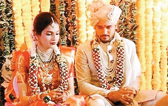 क्रिकेटर मनीष ने अश्रिता से की शादी
