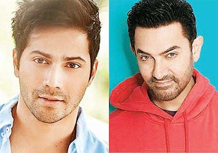 आमिर खान के साथ डेब्यू कर सकते थे वरुण धवन