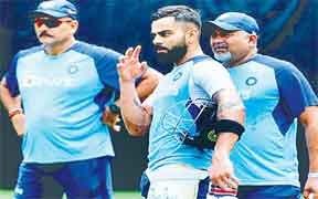 अभ्यास मैच में आज सवालों का जवाब ढूंढने के इरादे से उतरेगी भारतीय टीम